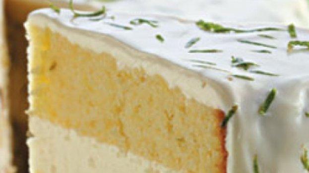 Bolo-mousse de Limão