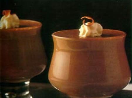 Creme Gelado de Chocolate no Microondas