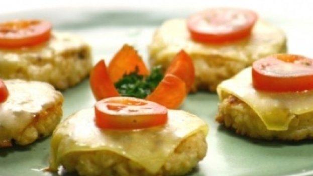 Mini-hambúrguer de Soja
