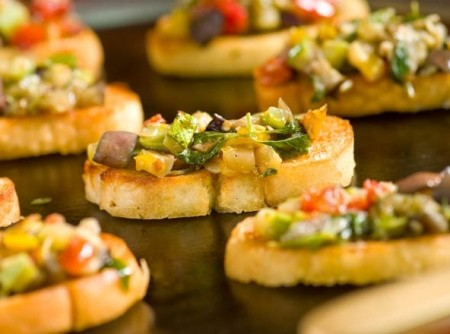Bruschetta de ratatouille