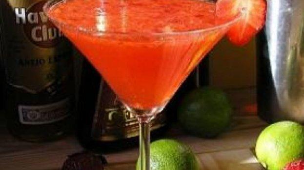 Drinque de Morango