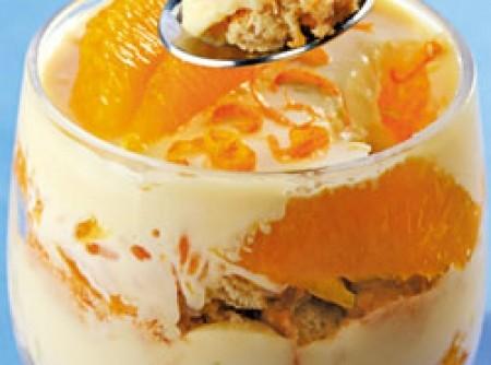 Pavê de ganache de laranja | CyberCook