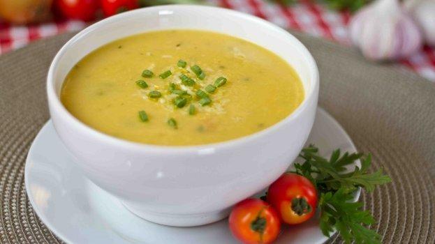 Sopa de Mandioquinha Vegana