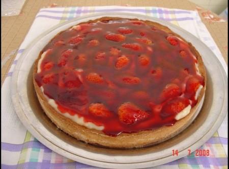 Torta de Morango Tradicional