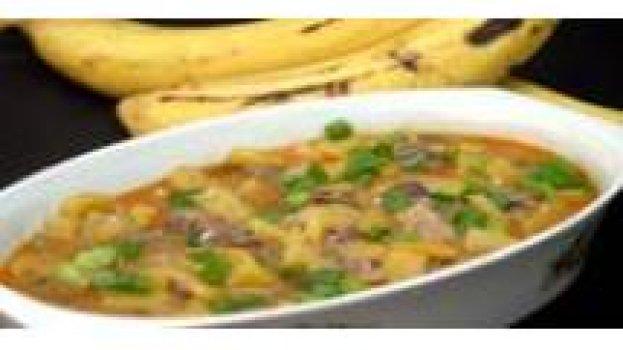 Carne Seca com Banana