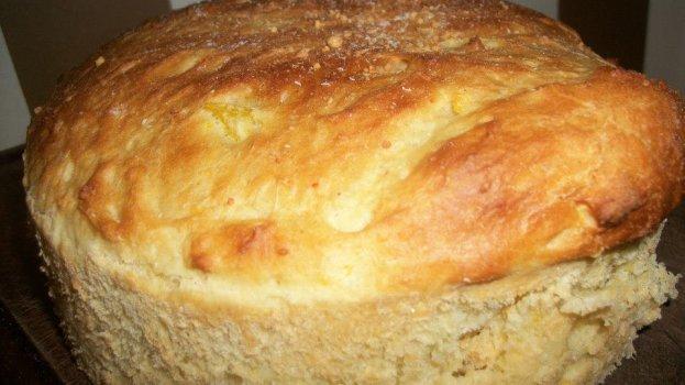 Pão de Farelo Recheado
