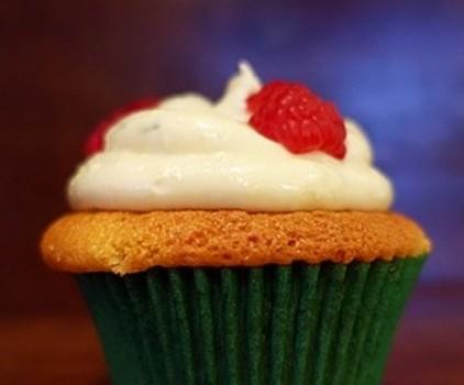 Cupcake de Limão com Framboesa | CyberCook