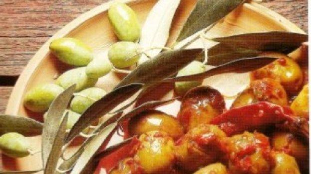 Salada Quente de Azeitonas