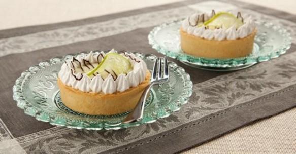 Torta de Limão com Creme de Avelã