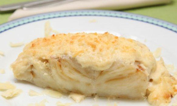 Bacalhau Gratinado com Gruyère