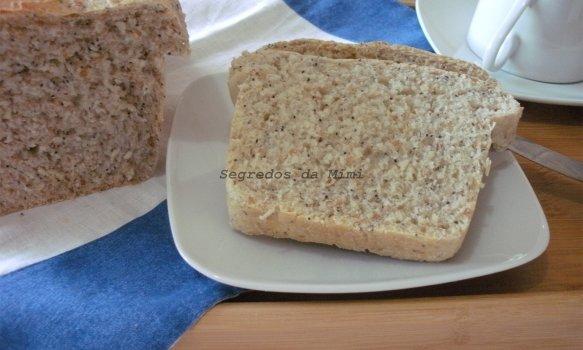 Pão de Forma com Sementes