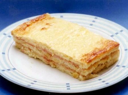 Sanduíche de Forno de Presunto e Queijo | CyberCook