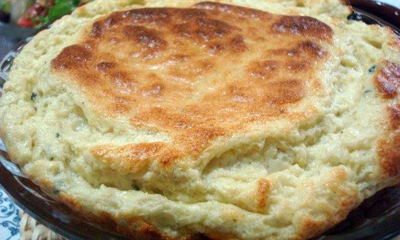 Suflê de Gorgonzola