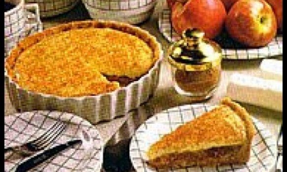 Torta diferente de maçã