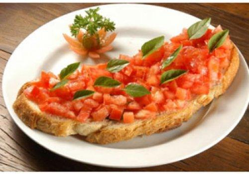 Bruschetta de Tomate Fresco