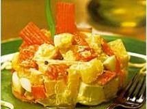 Salada de Batata com Kani Kama