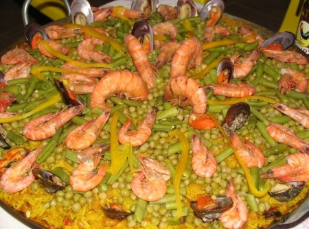 Paella do Álvaro
