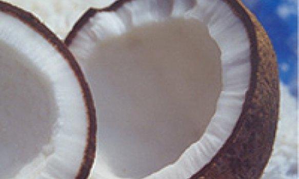 Farofa de arroz com coco