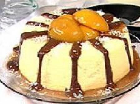 Mousse de Pessego com Chocolate | rodrigo a