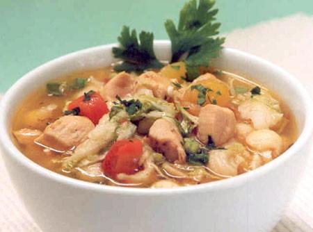 Sopa de Legumes com Frango | CyberCook