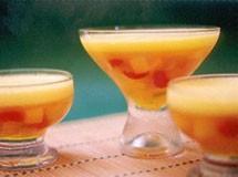 Gelatina com Frutas