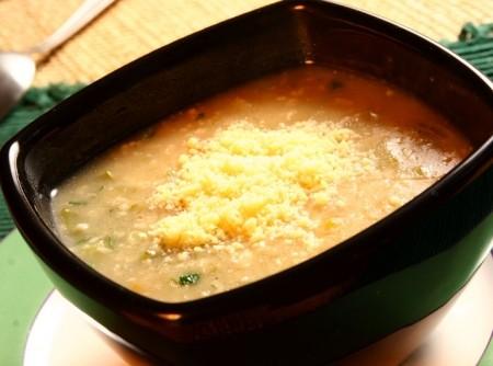 Sopa de Aveia com Legumes