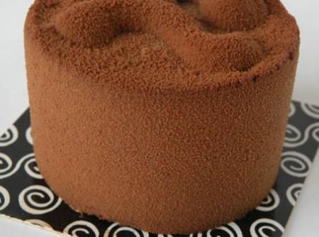 Torta Mousse de Chocolate com Merengue de Avelãs