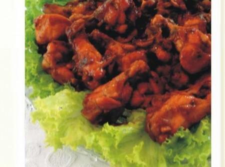 Coxinha de frango (churrasco)