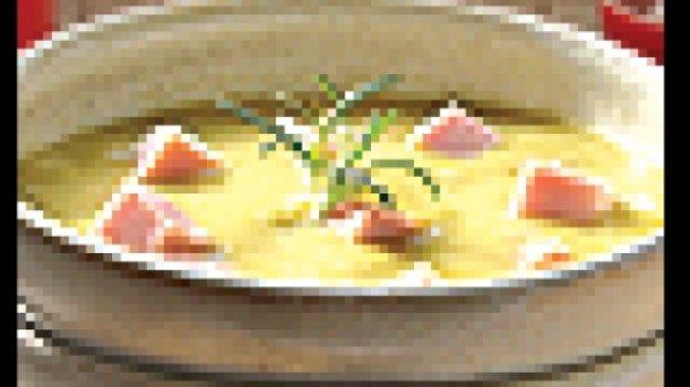 Sopa de Ervilha e Presunto