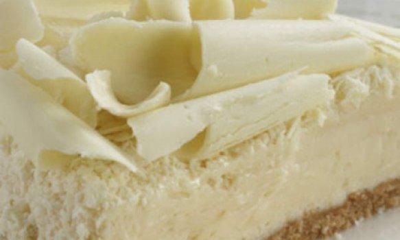 Bolo Gelado de Chocolate Branco