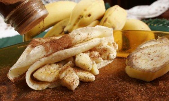 Crepe de Bananas Light