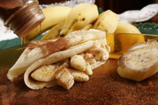 Crepe de Bananas Light   Andressa Fátima Domingos de Camargo