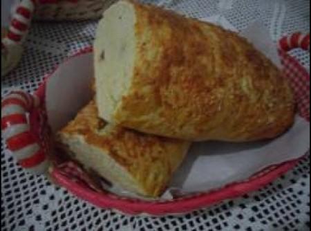 Pão de batata e queijo
