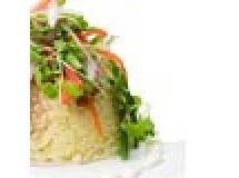 Salada de mousseline de queijo