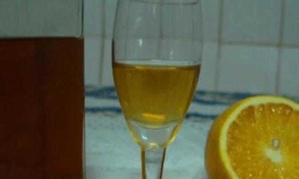 Licor tipo Cointreau
