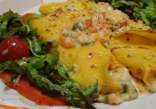 Fine Galette aux légumes