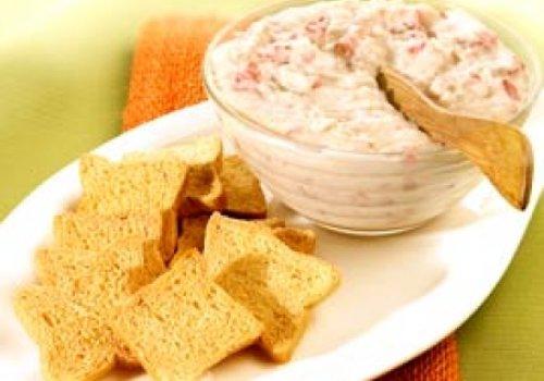 Pasta de feijão branco e pimentão vermelho