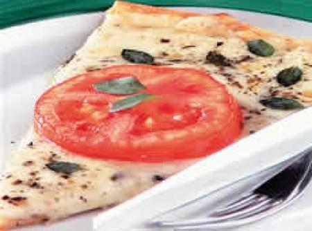 Pizza de mussarela da silvaninha