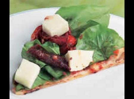 Pizza de rúcula | Irair de Jesus