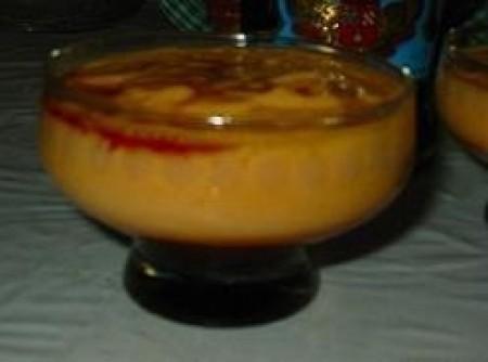 Creme de Papaya com Licor de Cassis