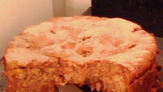 Torta de Maçã com Nozes