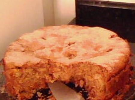 Torta de Maça com Nozes