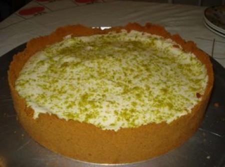 Torta de limão da Alcione