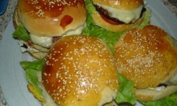 hamburgue de forno