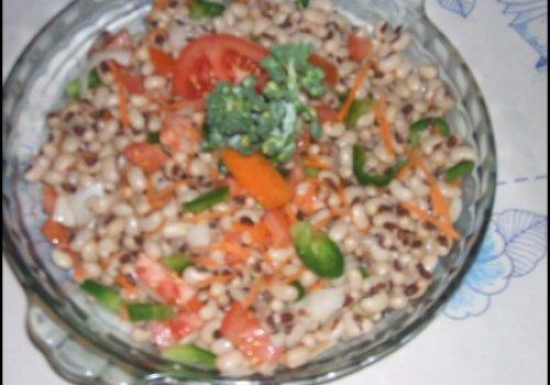salada de feijao branco