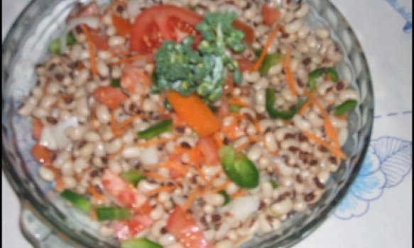 Salada de Feijão Branco Básica