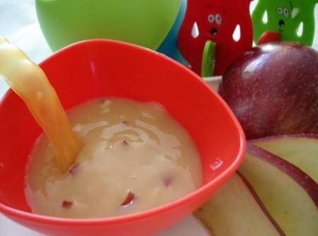Papinha doce de maçã