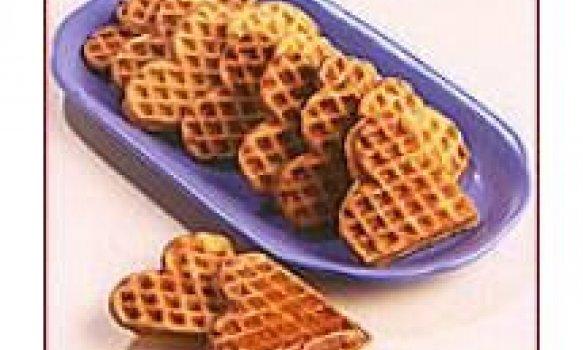Waffles de Coco
