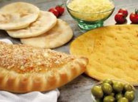 Massa básica para pizza, calzone e pão sírio