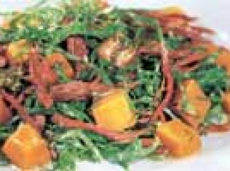 salada de jerimum